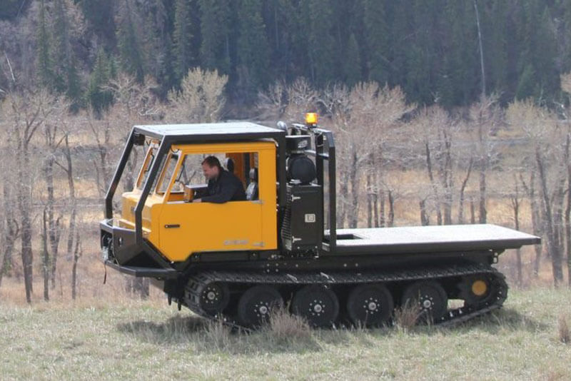 AT-50HD Low ground pressure tracked vehicle