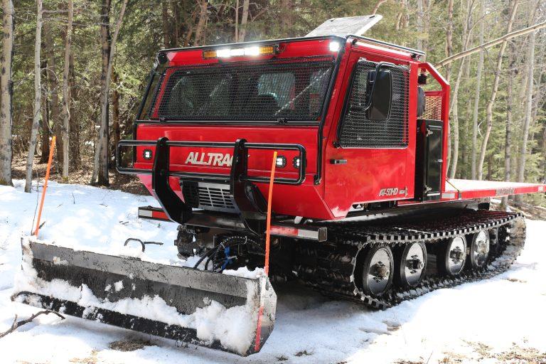 ALLTRACK AT-50HD Brushtrack Fire Suppresion vehicle