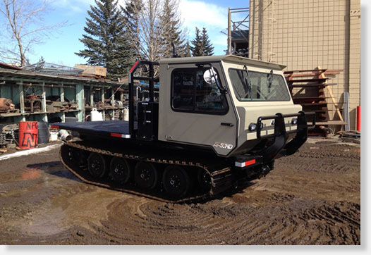 SOLD – 2015 AT-50HD Tracked Carrier