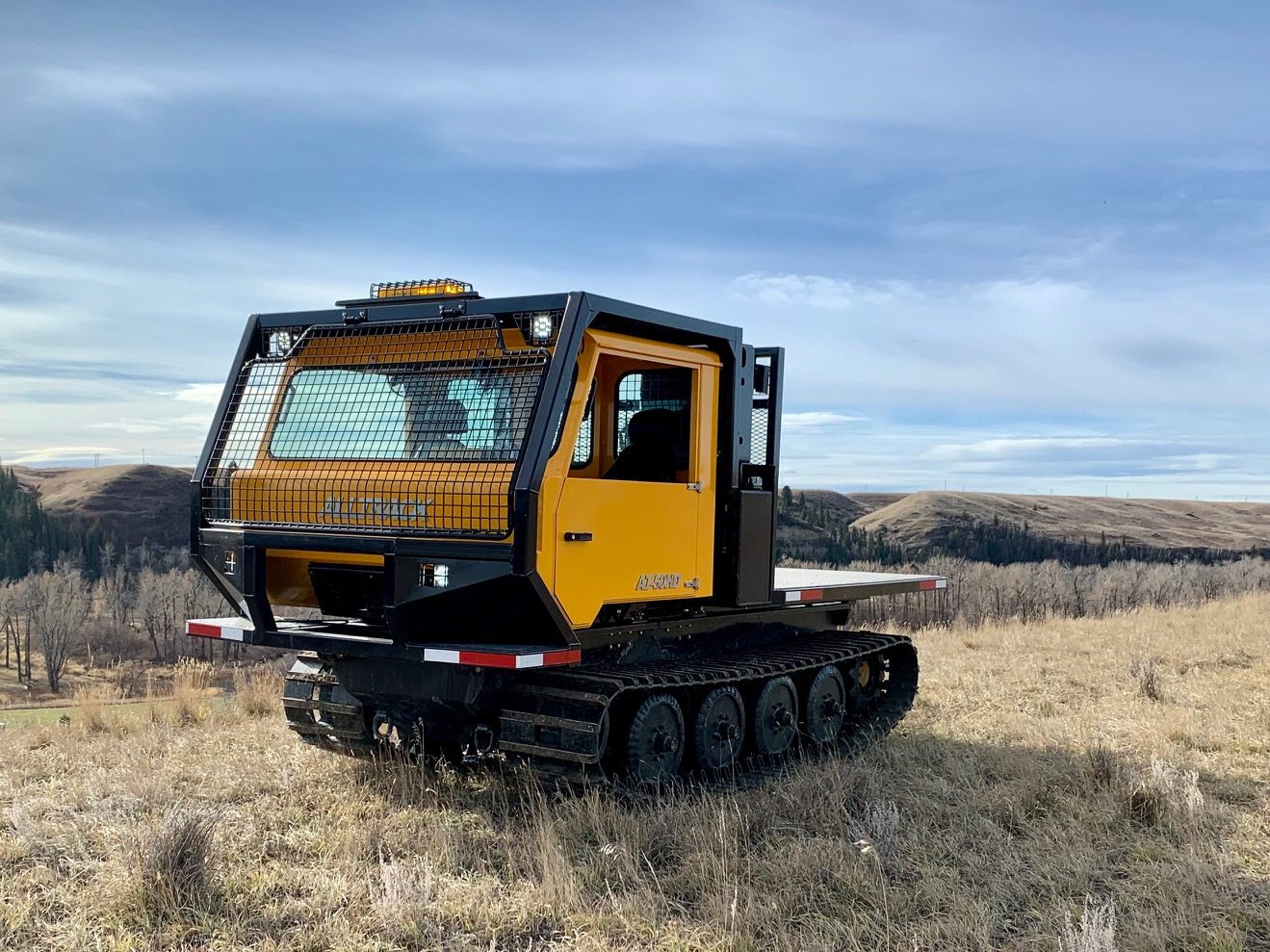 ALLTRACK AT-50HD WILDLAND FIREFIGHTING Tracked VEHICLE
