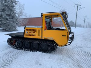 Image of a small tracked Vehicle